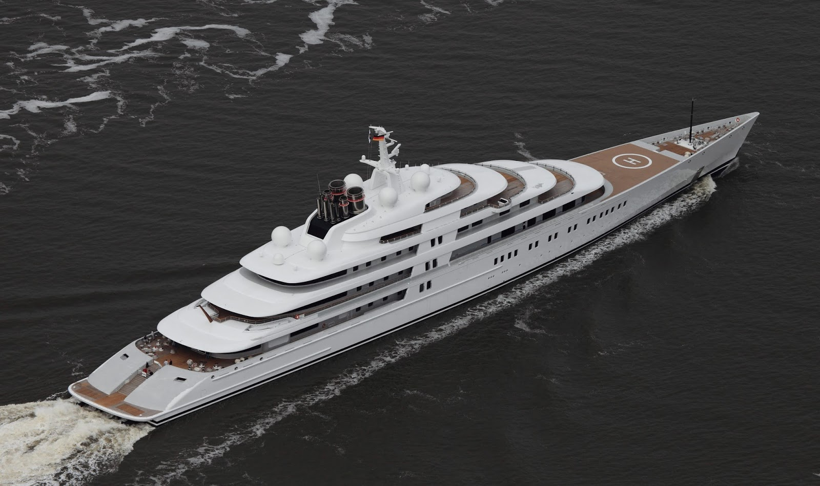Top 100 Largest Superyachts Tracker Marine Vessel Finder